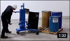 Video of Morse 82H Drum Palletizers