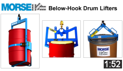 Morse Below-Hook Drum Lifter Video