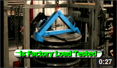 Video of Below-Hook Load Test